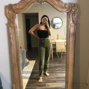Urban Outfitters mom rise corduroy pants
